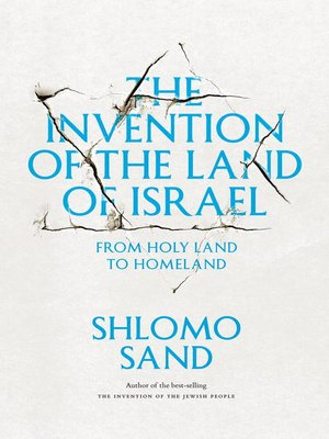 cover image of The Invention of the Land of Israel