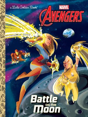 cover image of Battle on the Moon (Marvel Avengers)
