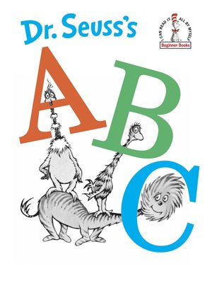 cover image of Dr. Seuss's ABC