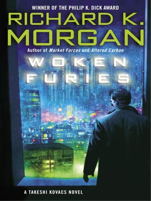 cover image of Woken Furies