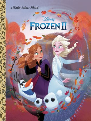 cover image of Frozen 2 Little Golden Book (Disney Frozen)