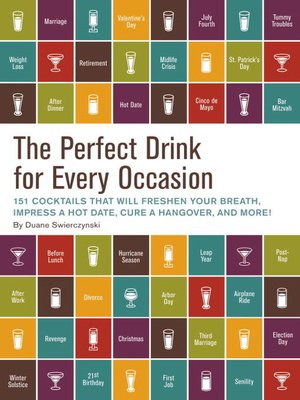 cover image of The Perfect Drink for Every Occasion