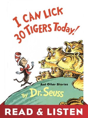 cover image of I Can Lick 30 Tigers Today! and Other Stories