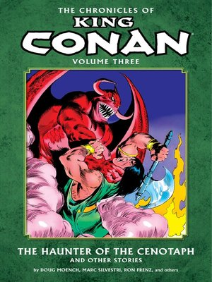 cover image of Chronicles of King Conan, Volume 3
