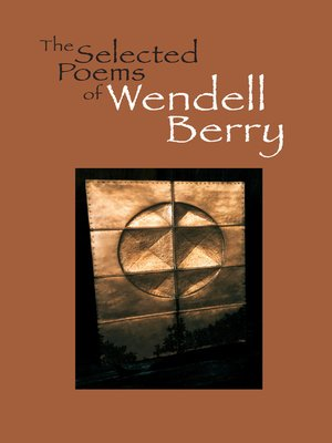 cover image of The Selected Poems of Wendell Berry