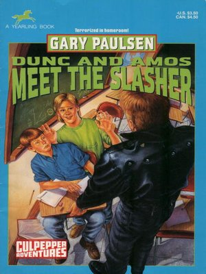 cover image of Dunc and Amos Meet the Slasher