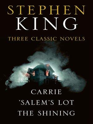 cover image of Stephen King Three Classic Novels Box Set