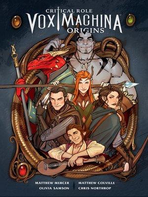 cover image of Critical Role: Vox Machina Origins (2017), Volume 1