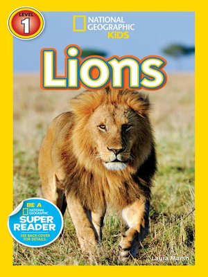 cover image of National Geographic Readers: Lions
