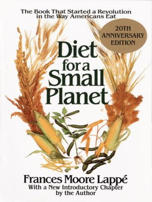 cover image of Diet for a Small Planet