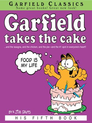 cover image of Garfield Takes the Cake