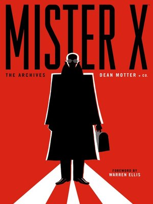 cover image of Mister X: The Archives