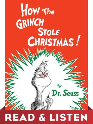 cover image of How the Grinch Stole Christmas!