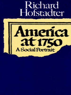 cover image of America at 1750