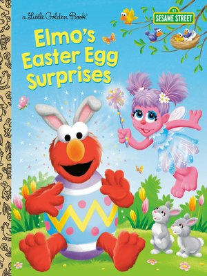 cover image of Elmo's Easter Egg Surprises (Sesame Street)
