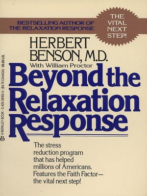 cover image of Beyond the Relaxation Response
