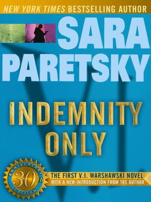 cover image of Indemnity Only