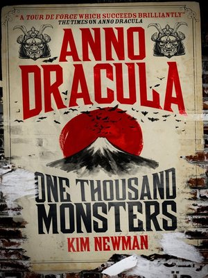 cover image of Anno Dracula--One Thousand Monsters