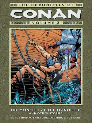 cover image of Chronicles of Conan, Volume 3