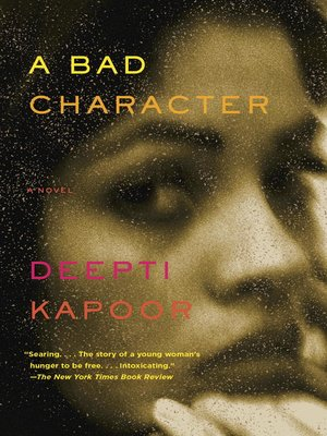 cover image of A Bad Character