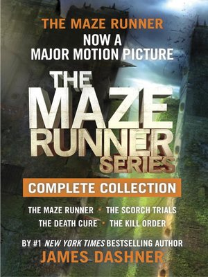 cover image of The Maze Runner Series Complete Collection