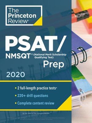 cover image of Princeton Review PSAT/NMSQT Prep, 2020