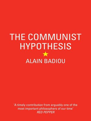 cover image of The Communist Hypothesis
