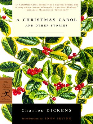 cover image of A Christmas Carol and Other Stories