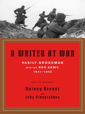 cover image of A Writer at War