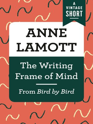 cover image of The Writing Frame of Mind