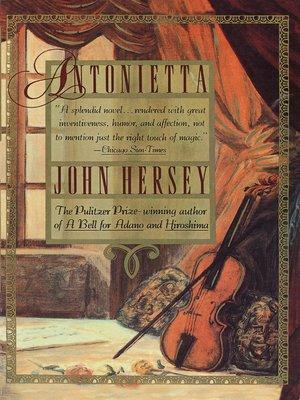 cover image of Antonietta