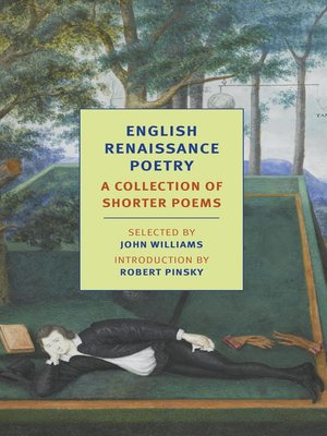cover image of English Renaissance Poetry