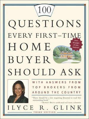 cover image of 100 Questions Every First-Time Home Buyer Should Ask