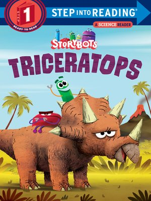 cover image of Triceratops (StoryBots)