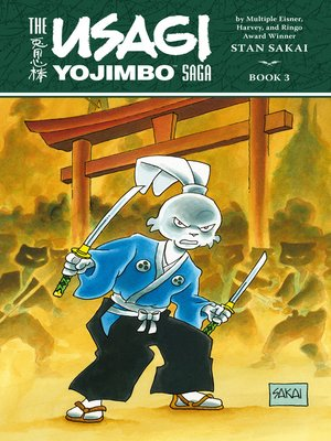 cover image of Usagi Yojimbo Saga Volume 3 ()