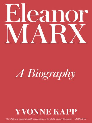 cover image of Eleanor Marx