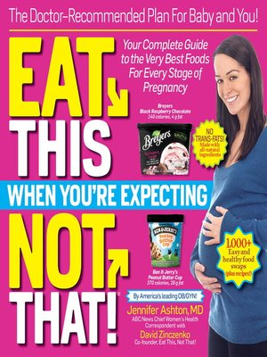 cover image of Eat This, Not That When You're Expecting