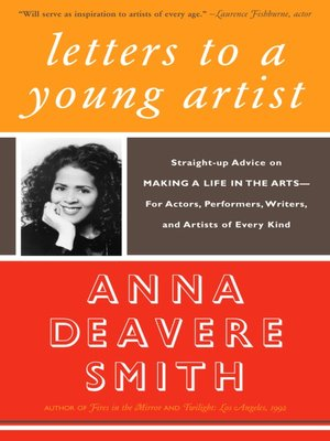 cover image of Letters to a Young Artist