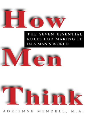 cover image of How Men Think