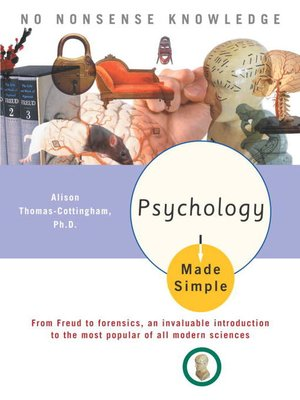 cover image of Psychology Made Simple