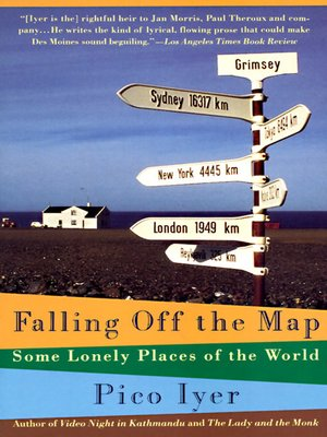 cover image of Falling Off the Map