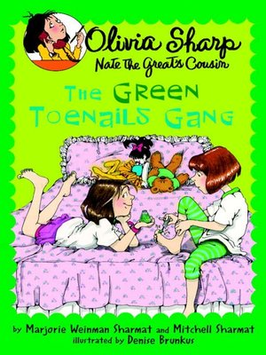 cover image of The Green Toenails Gang