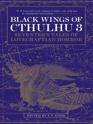 cover image of Black Wings of Cthulhu (Volume Three)