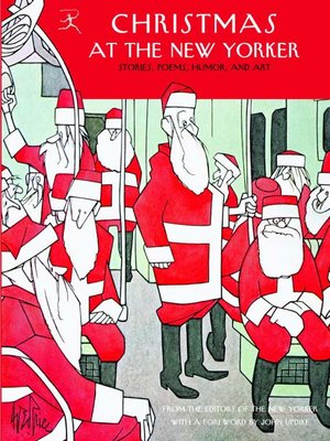 cover image of Christmas at the New Yorker