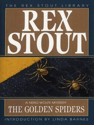 cover image of The Golden Spiders