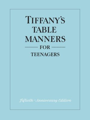 cover image of Tiffany's Table Manners for Teenagers