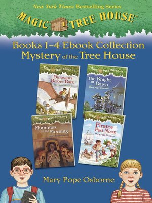 cover image of Magic Tree House, Books 1-4