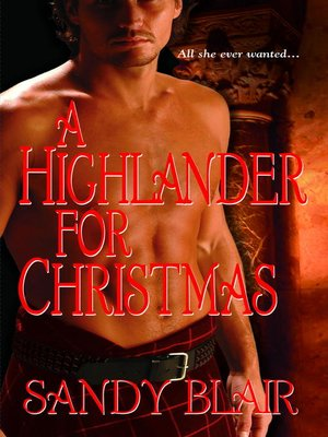 cover image of A Highlander for Christmas