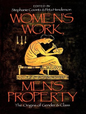 cover image of Women's Work, Men's Property