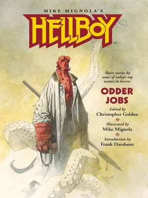 cover image of Hellboy: Odder Jobs